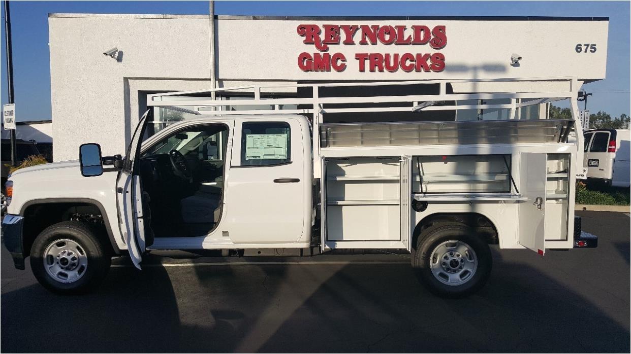 2016 gmc 2500hd plumber service truck