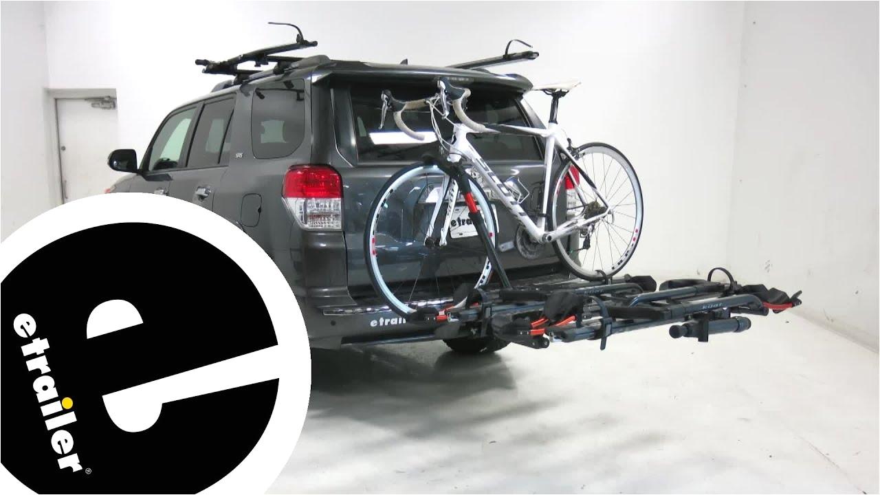 Kuat Nv 2-bike Hitch Rack Youtube Review Kuat Nv 2 Bike Add On Na22g Etrailer Com Youtube