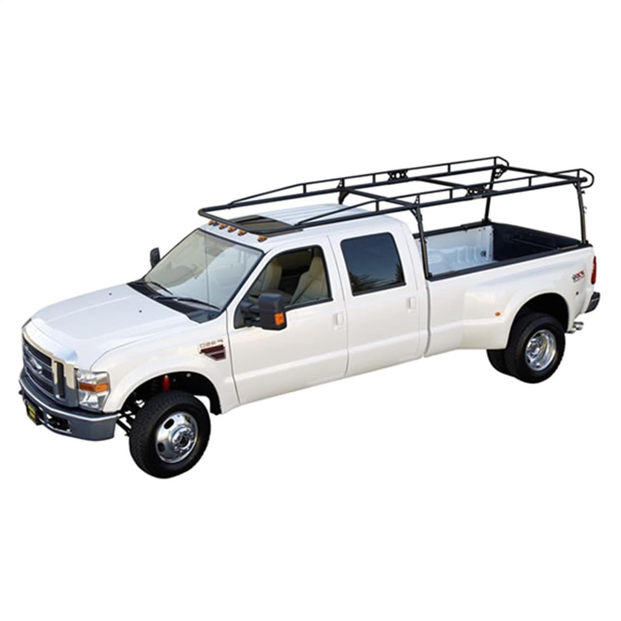 kargo master heavy duty pro ii ladder rack for full size open bed pickup trucks image