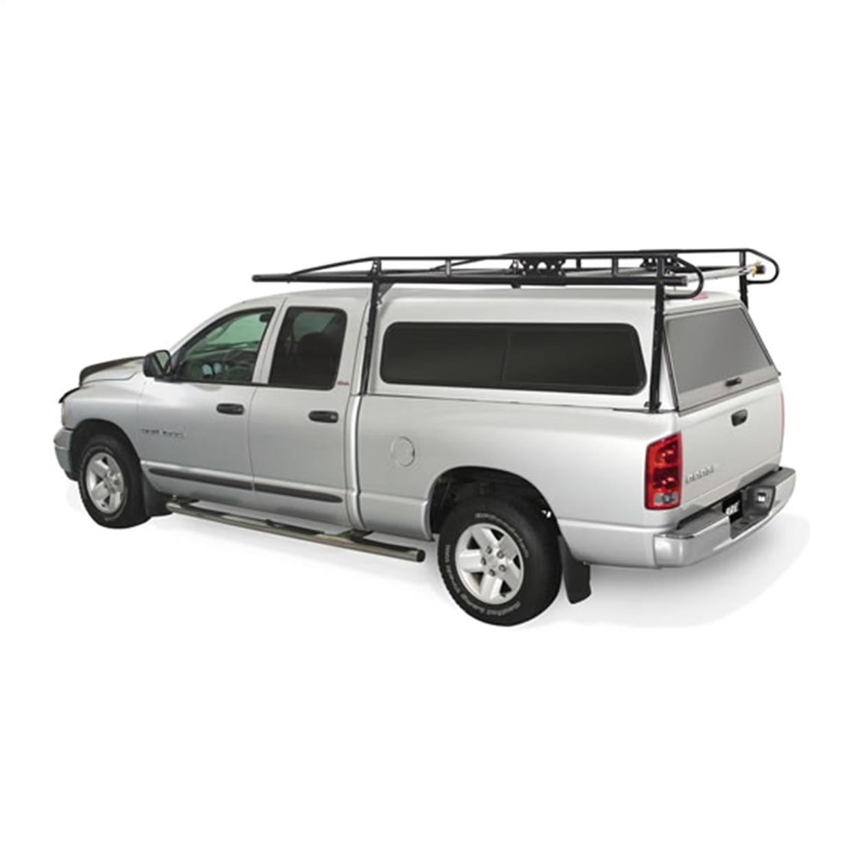 kargo master heavy duty pro ii pickup truck topper ladder rack for full size trucks image