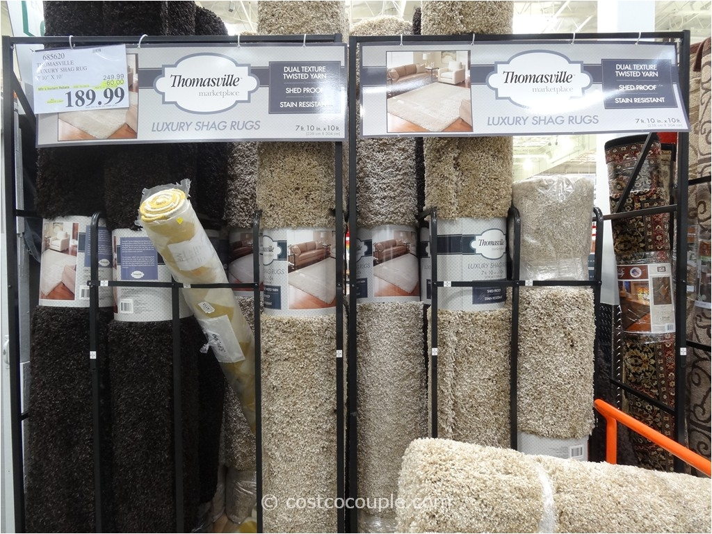thomasville luxury shag rug costco 3