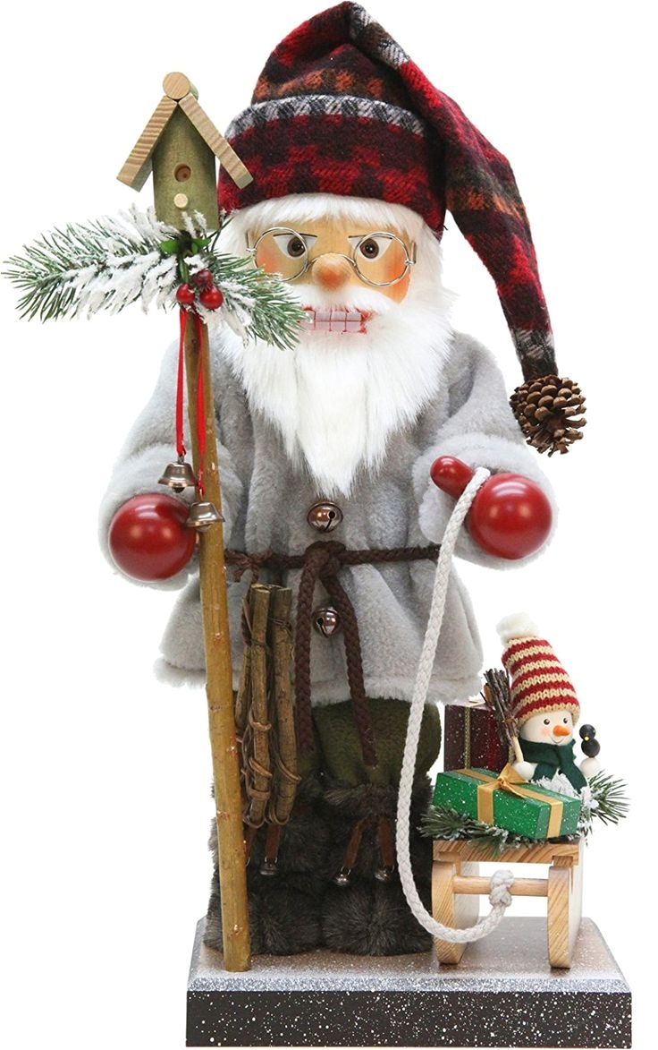 alexander taron importer 0 491 christian ulbricht nutcracker santa with sled snowshoes an d
