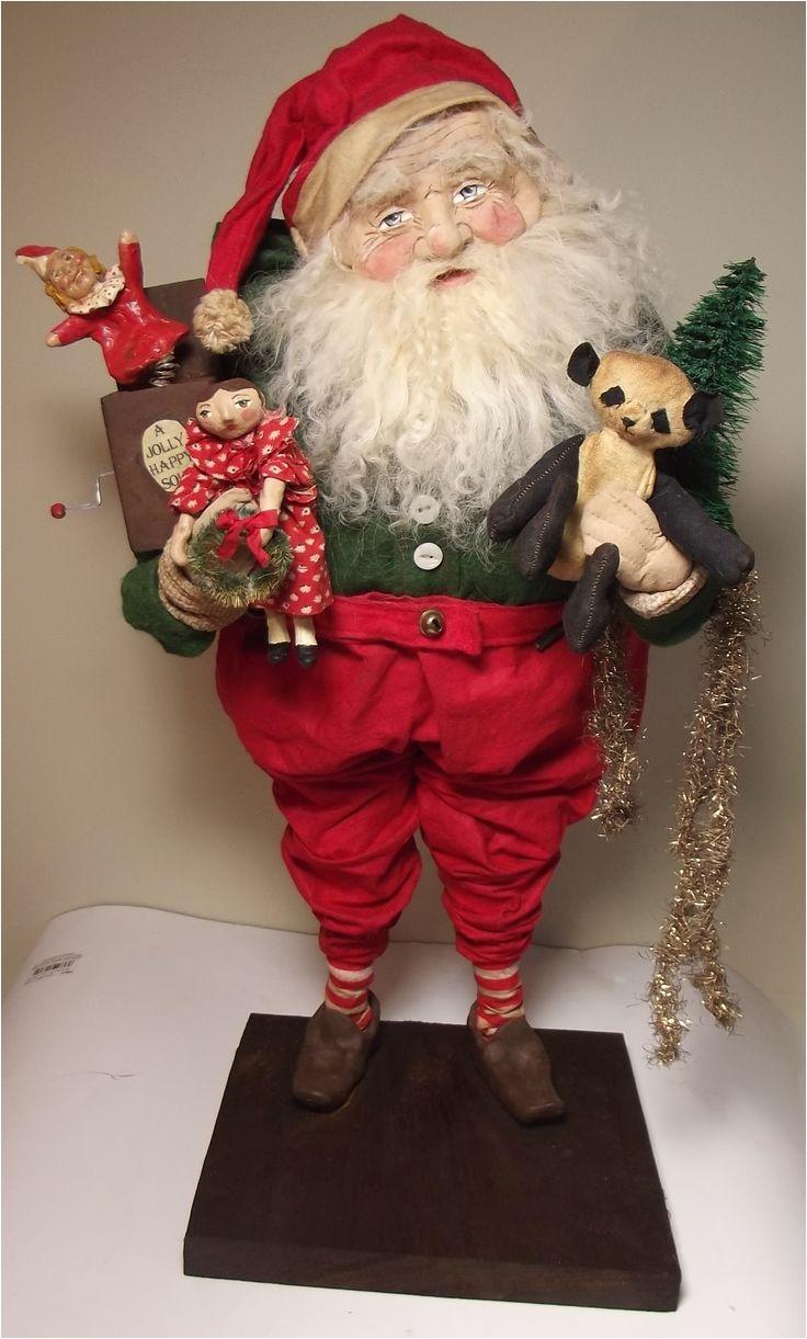 handmade jolly old santa claus by kim sweet kim s klaus handmade jack in