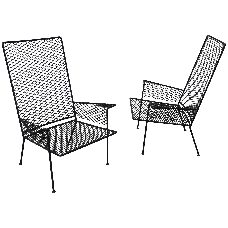 Lawn Chair Fabric Mesh Metal Mesh Patio Furniture New Wicker Outdoor