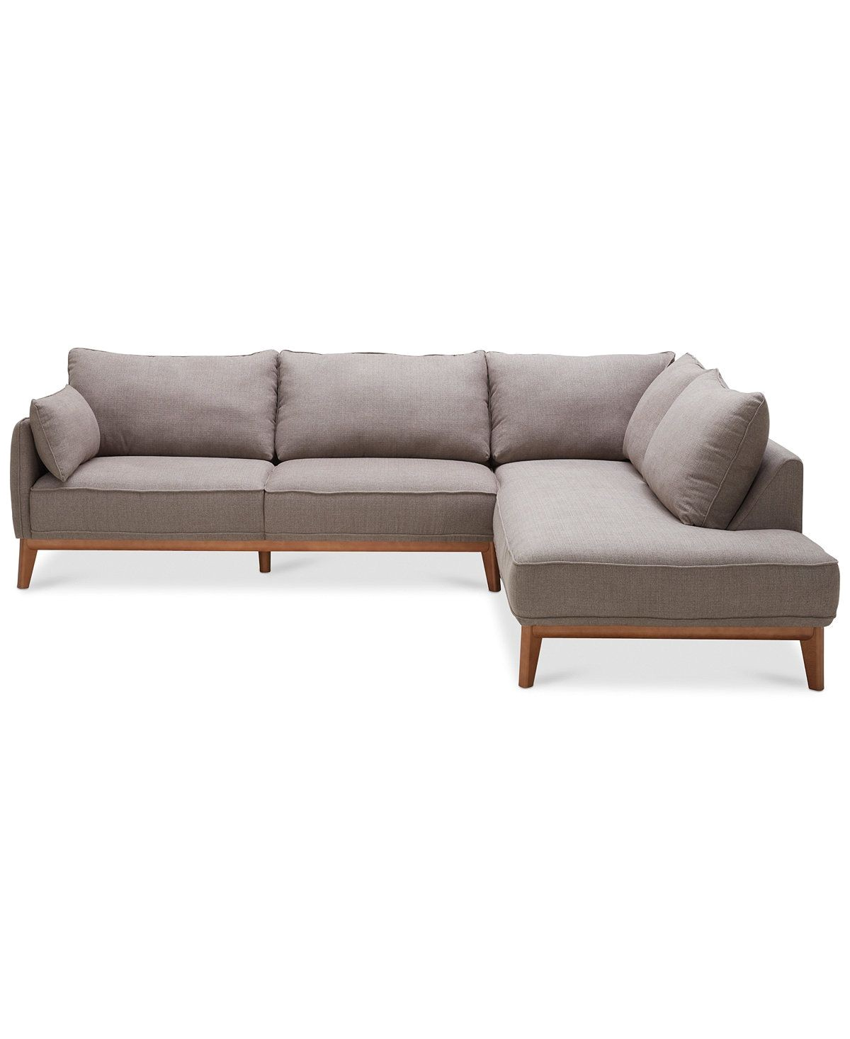 jollene 2 pc sectional created for macy s sectional sofas furniture macy s