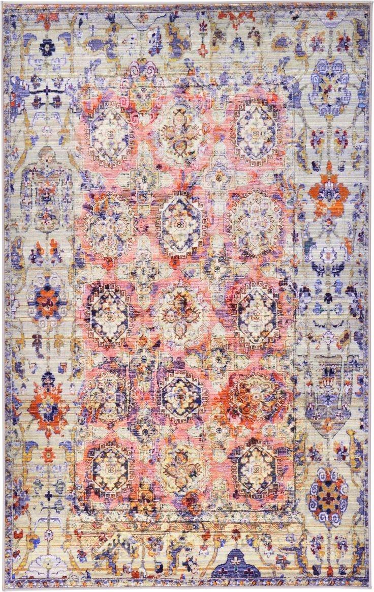 light pink 5 0 x 8 0 eclat rug area rugs esalerugs