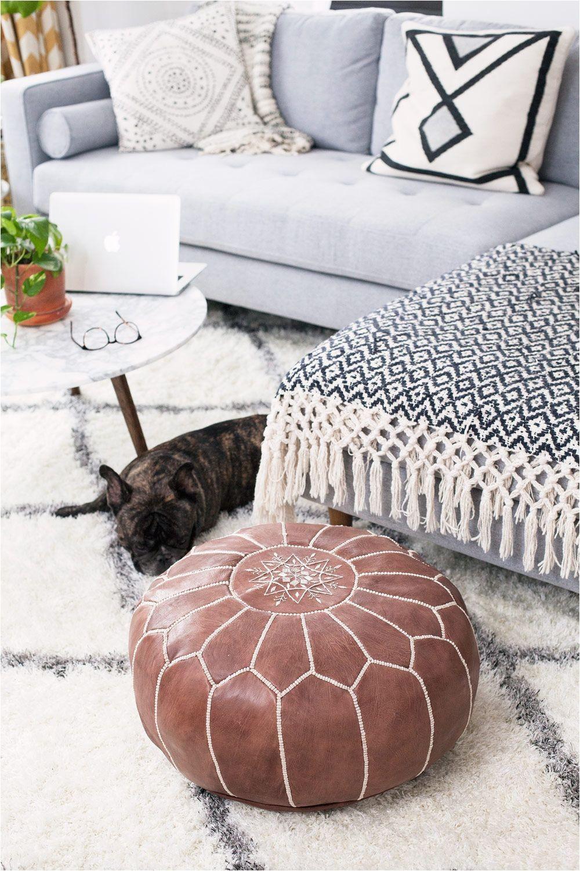 new york apartment living nolan camille diamond pillow cover via serena lily image via corporate catwalk