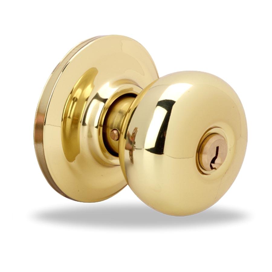 keyed door knob