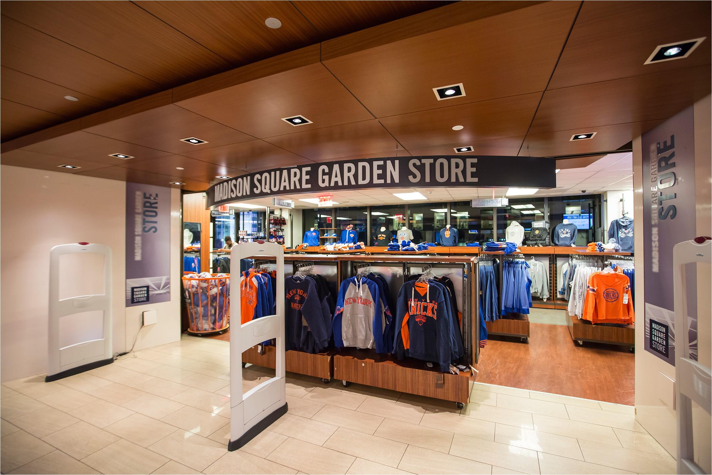 Madison Square Garden Ticket Office Msg Store New York Knicks