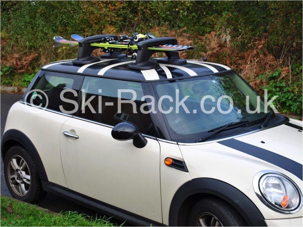 mini ski rack no roof bars a 134 95