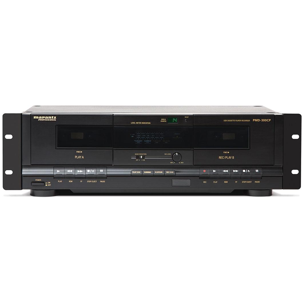 Marantz Rack Mount Digital Audio Recorder Marantz Pmd 300cp Rack Mount Dual Cassette Player Recorder with Usb