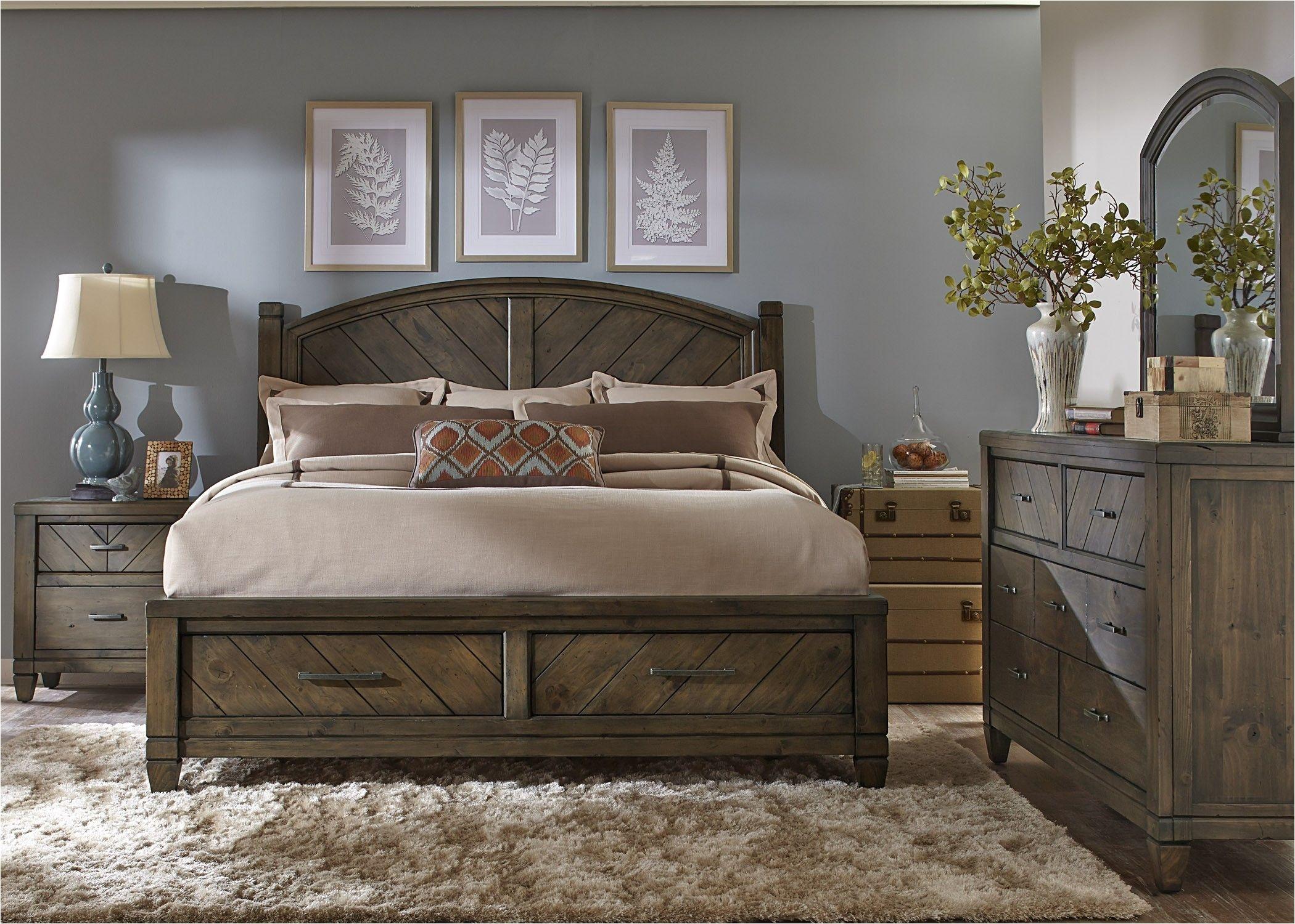 modern country bedroom set