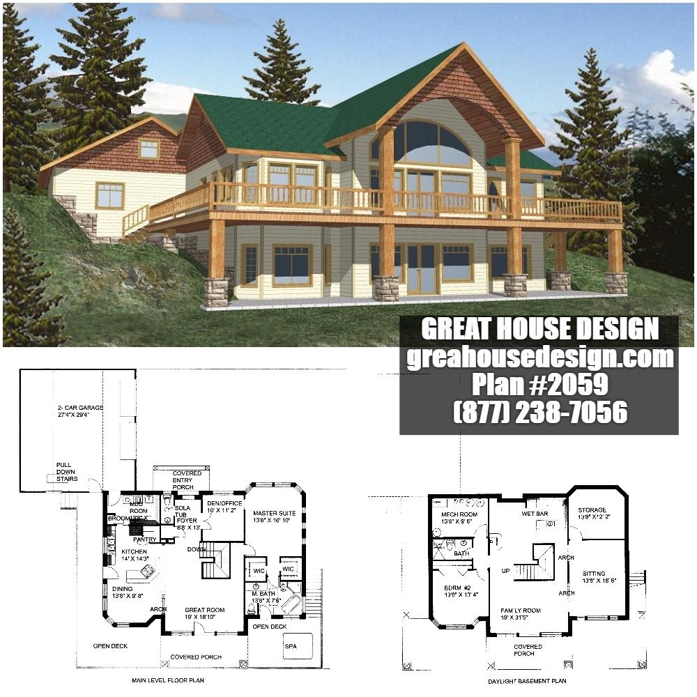 mountain style home plans icf mountain house plan 2059 toll free