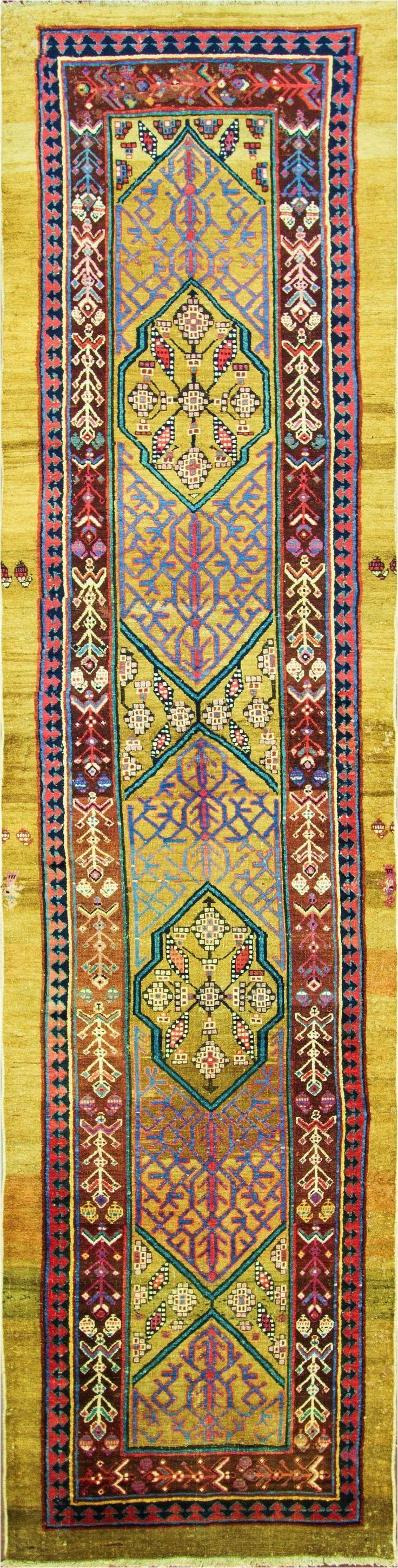 persian bakshaish runner 99cm x 432cm 1880 eli peer oriental rugs