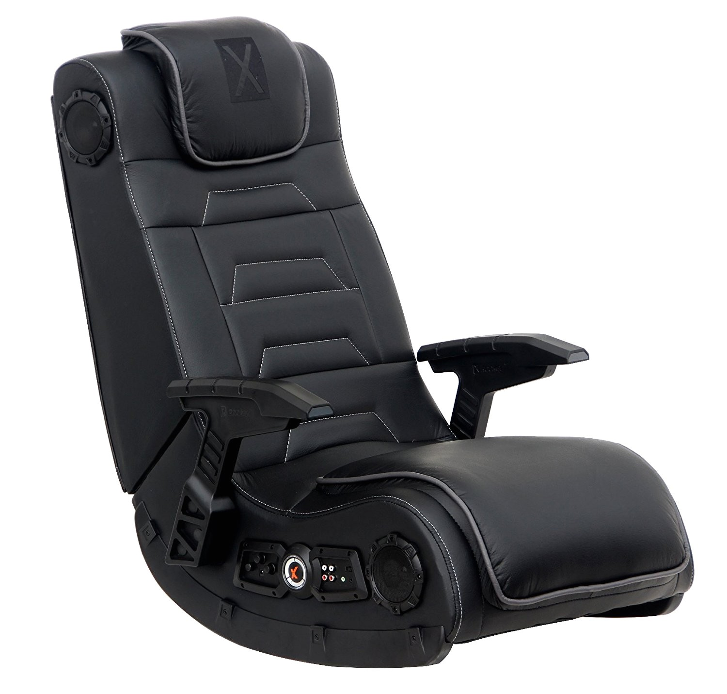 amazon com x rocker 51259 pro h3 4 1 audio gaming chair wireless sports outdoors