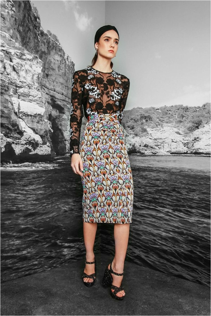 nicole miller resort 2017 fashion show