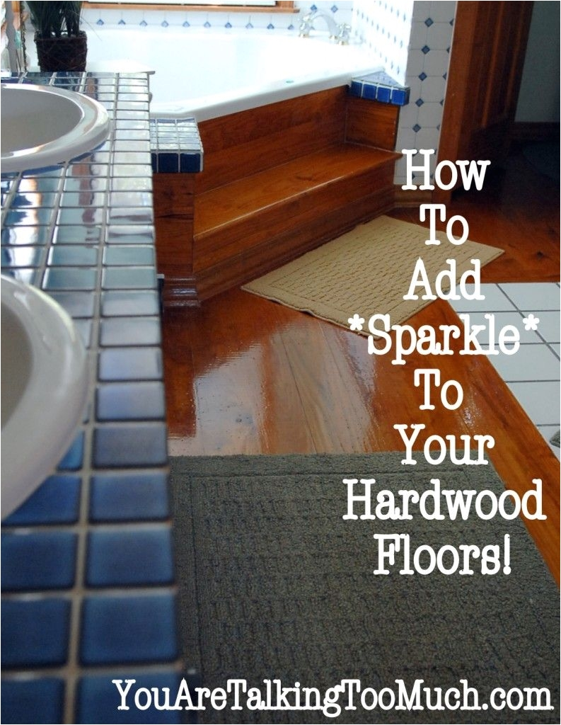 use windex multi surface cleaner to make hardwood floors and ceramic tile sparkle