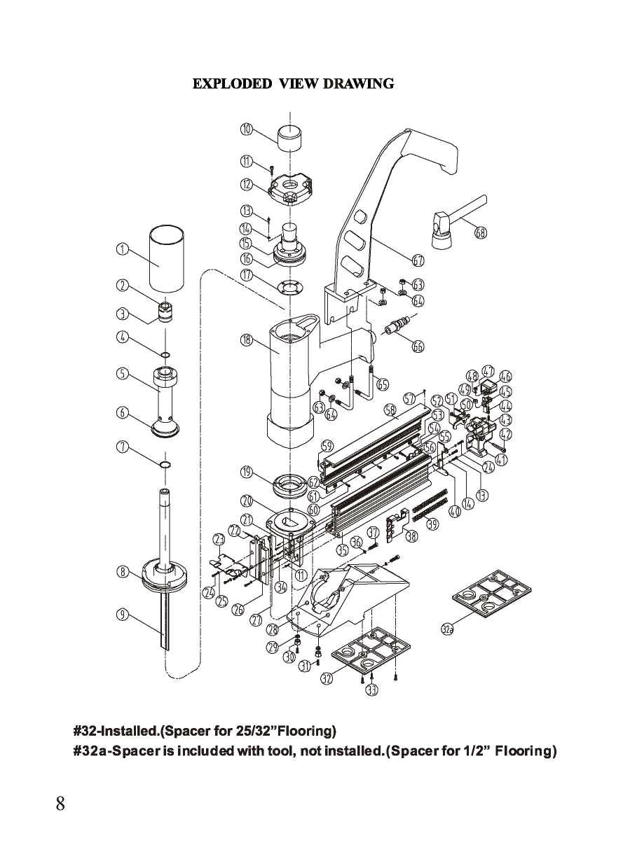 Norge Floor Nailer Parts Flooring101 norge 2 In 1 Flooring Nailer Stapler Manual Buy