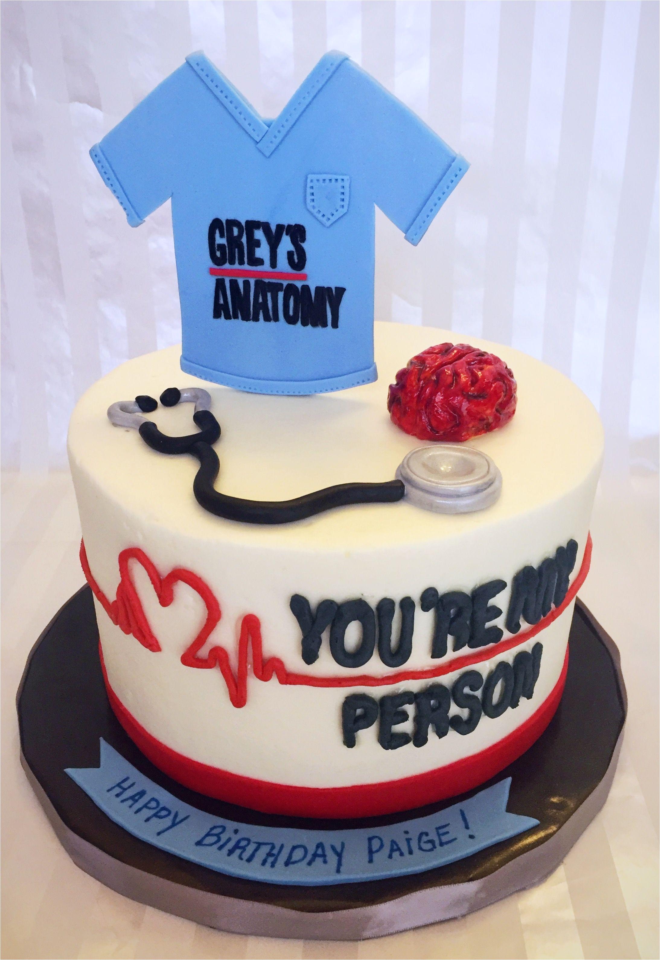Nurse Party Decorations Grey S Anatomy Birthday Cake Diy 21st