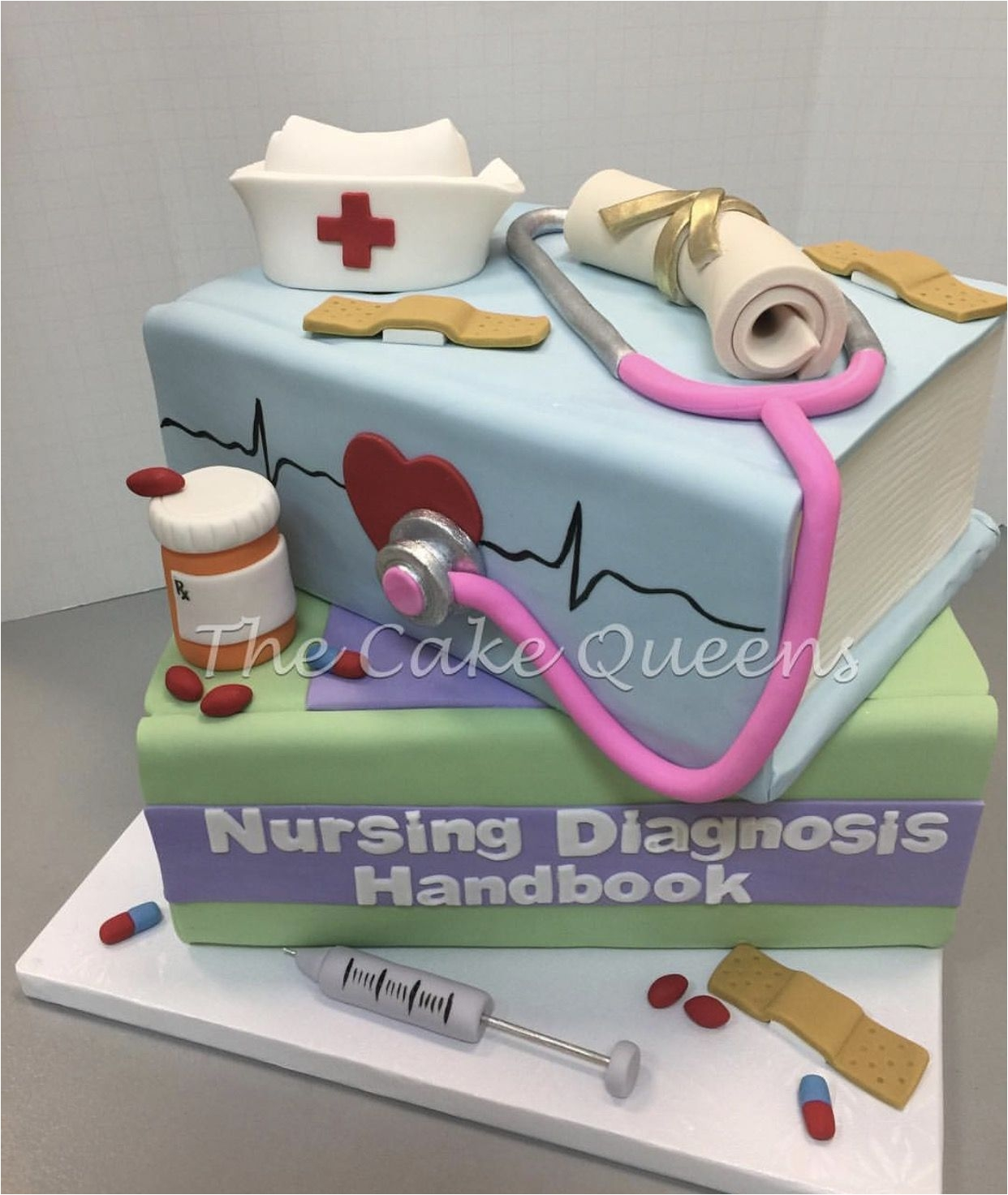 Nurse Party Decorations Nursing Grad Cake Idea Pinterest