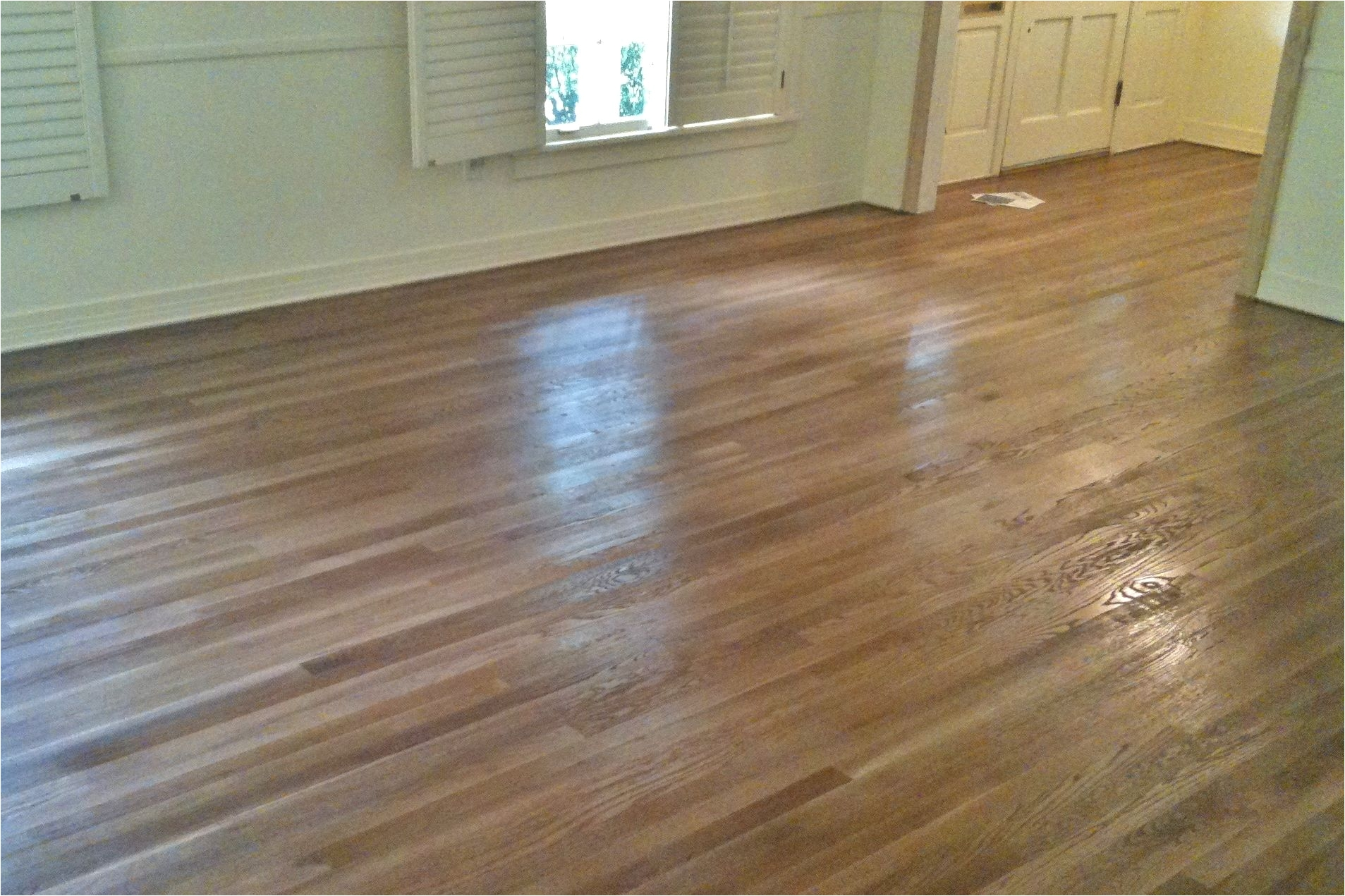 minwax special walnut stain on oak hardwood floors