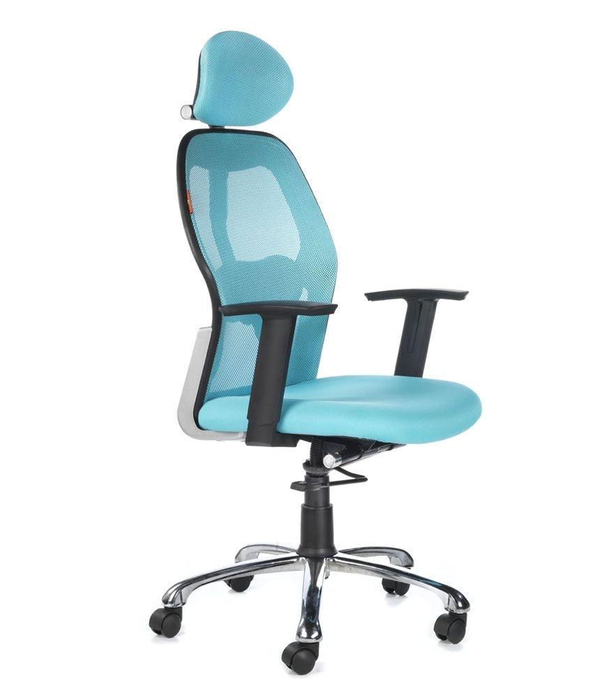 Office Chairs Under 5000 Bluebell Ergonomic Kruz High Back Office Chair Buy Bluebell