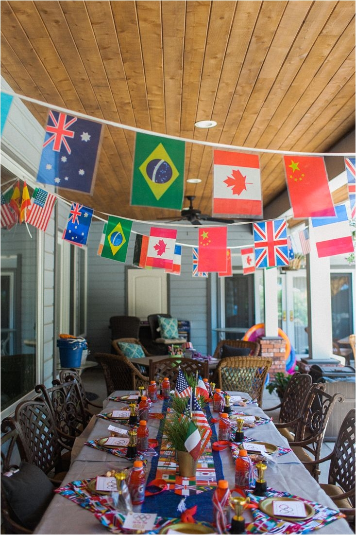 everything you need to throw the best olympic party includes free printables party games decor and other ideas to make your party a gold medal winner