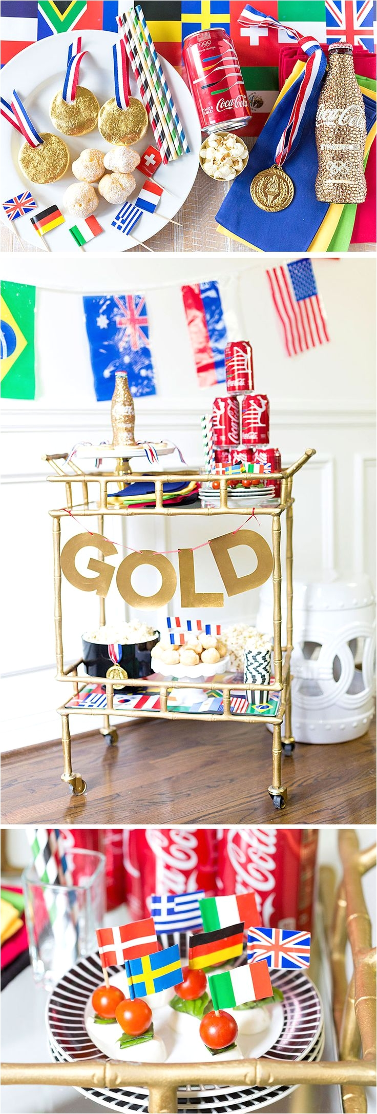 host an olympic games viewing party