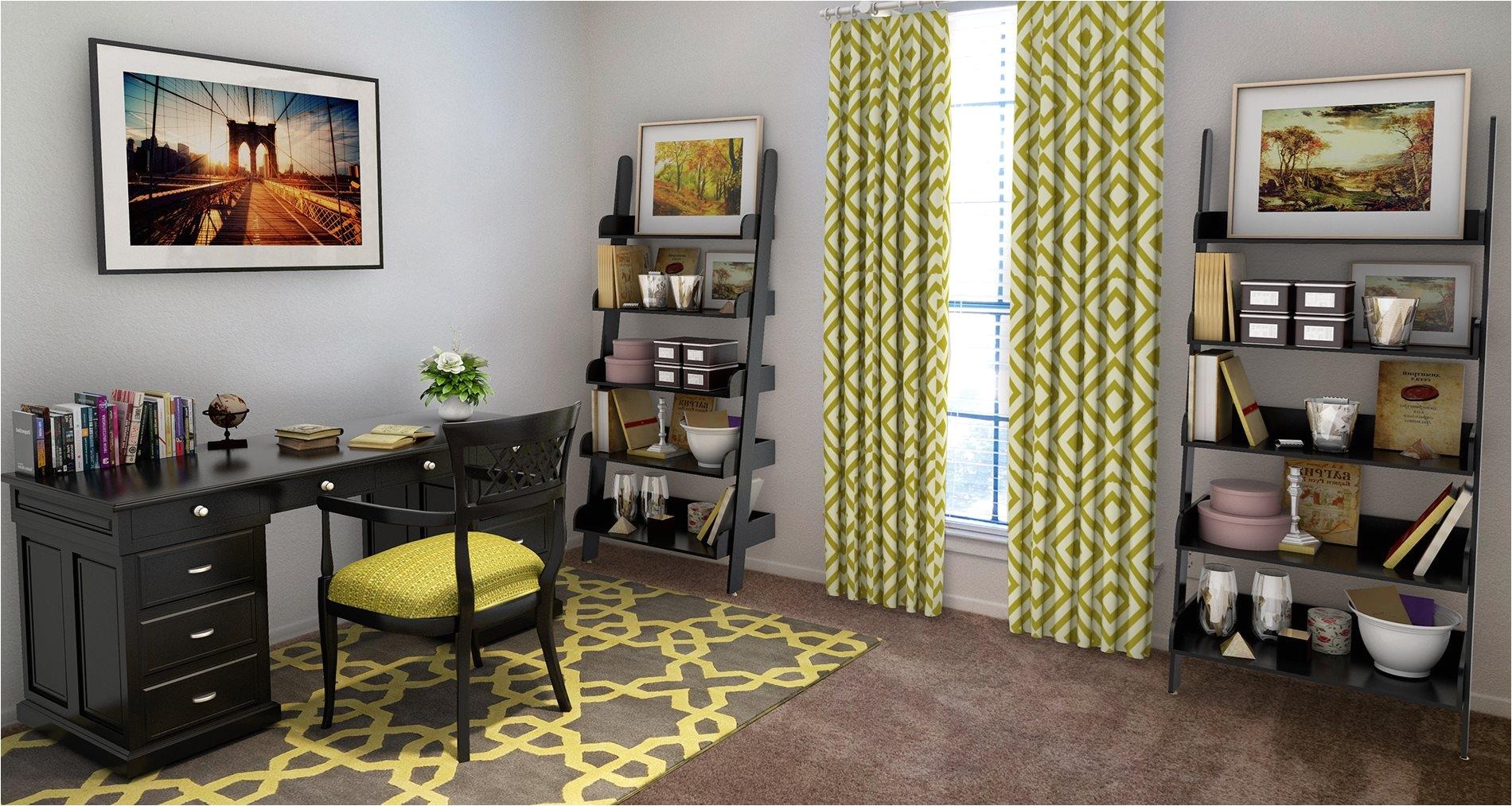 bedroom model background at ridgecrest apartments in denton texas tx