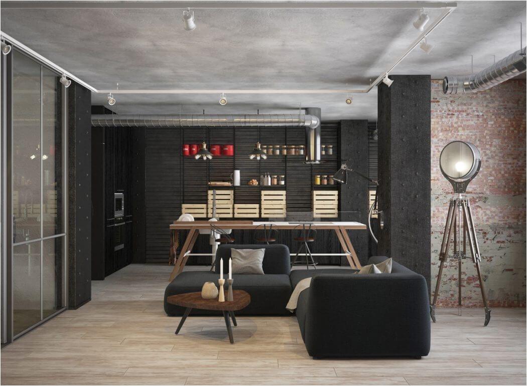 room a apartment in yekaterinburg by eugene shvetsov