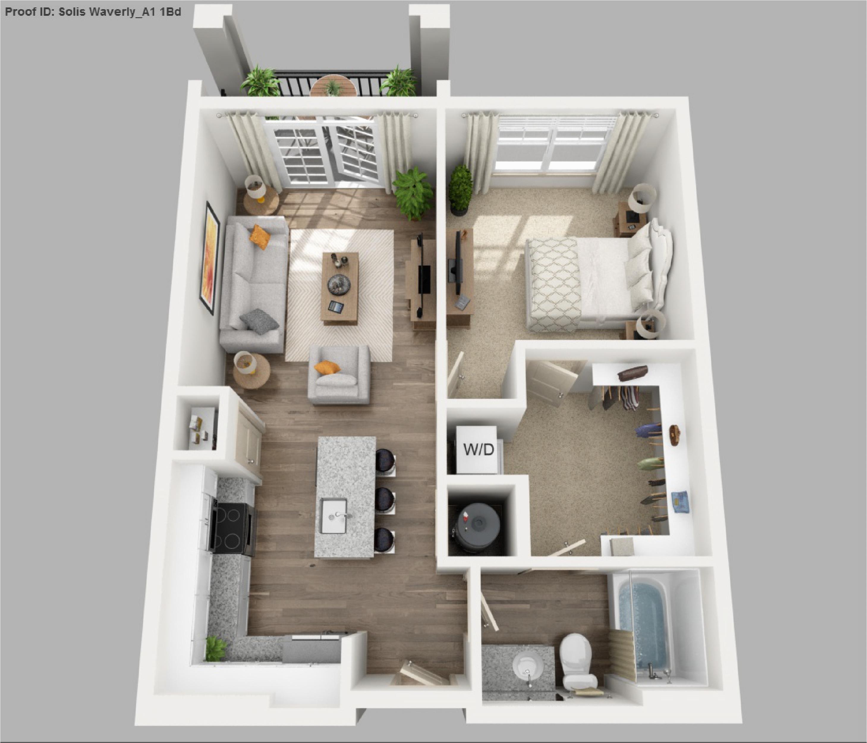 1 bedroom apartments in murfreesboro tn minimalist solis apartments floorplans waverly