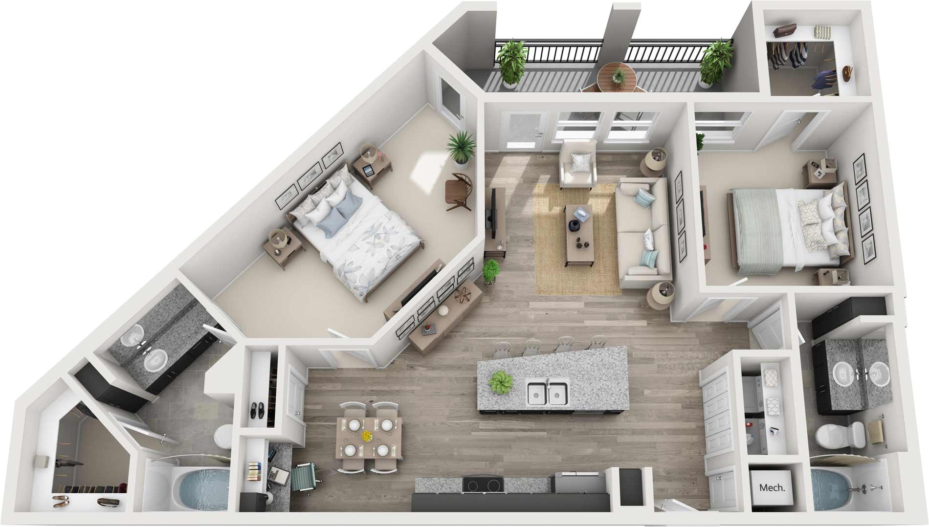 One Bedroom Student Apartments Tampa Fl Elliston 23 Luxury Pet Friendly Apartments In Nashville Tn the
