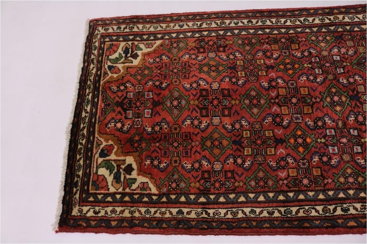 beautiful pattern hallway vintage hamedan persian rug oriental area carpet 3x10