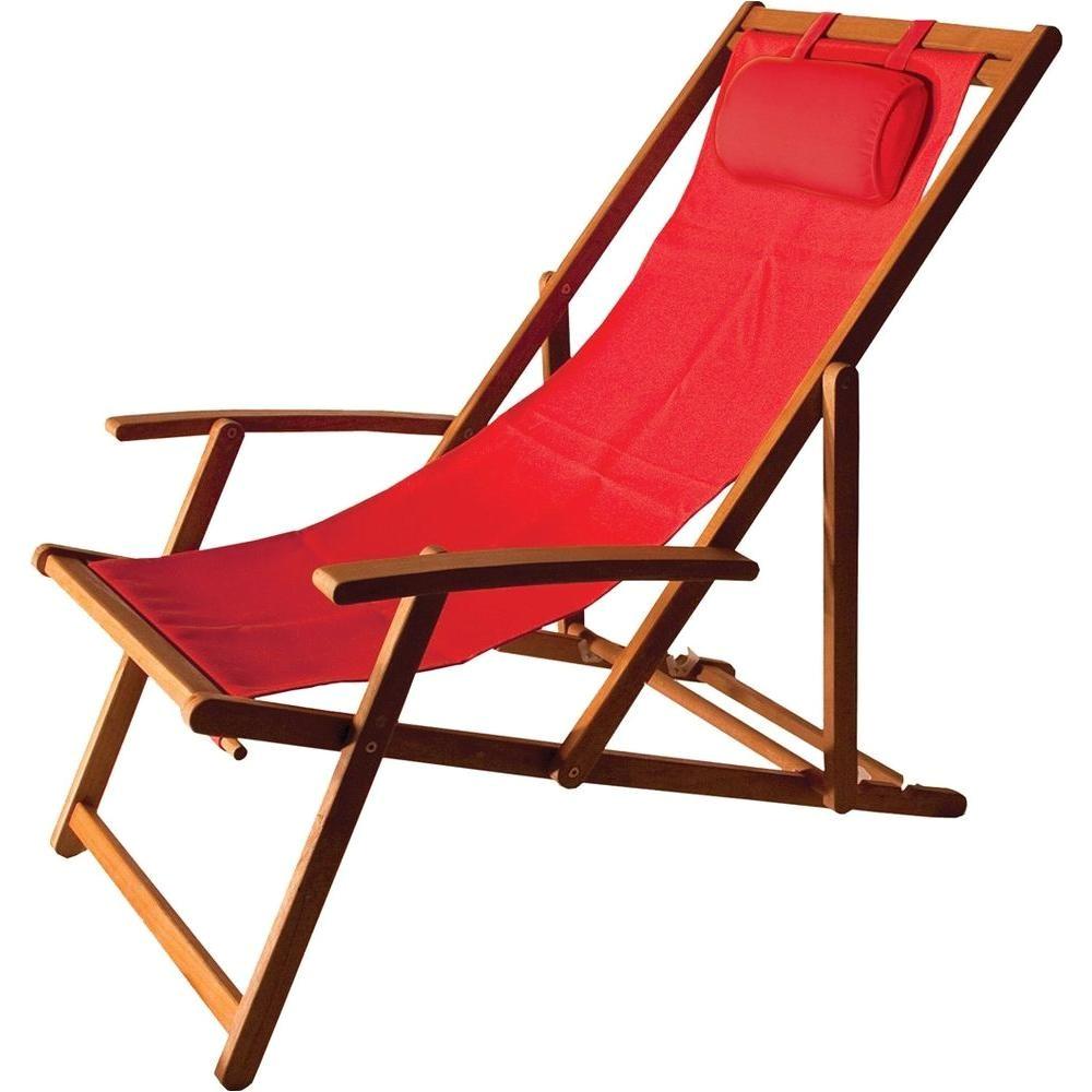 arboria islander folding sling patio chair