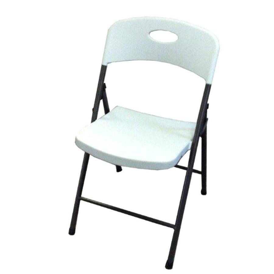 suddensolution indoor outdoor steel mocha standard folding chair