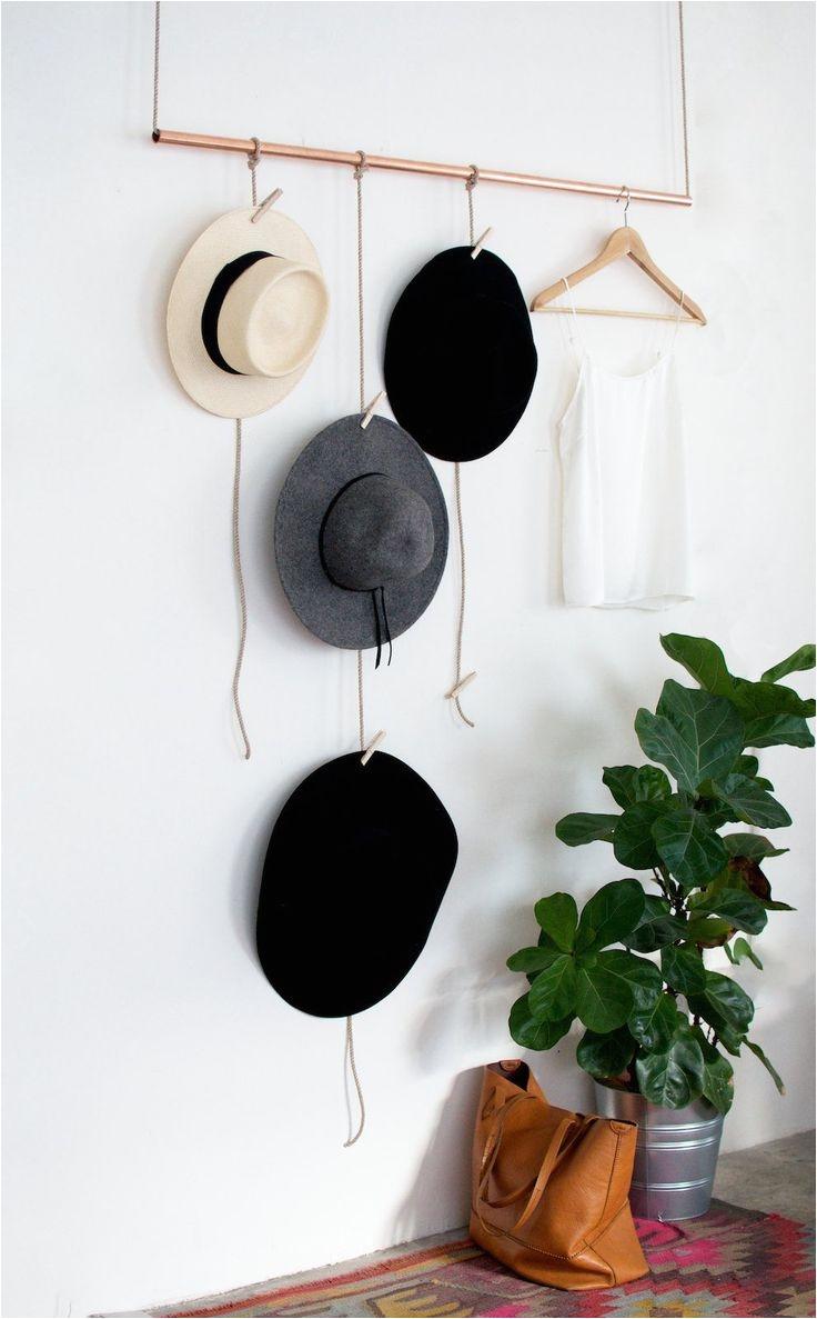 unique cool diy hat rack ideas storage