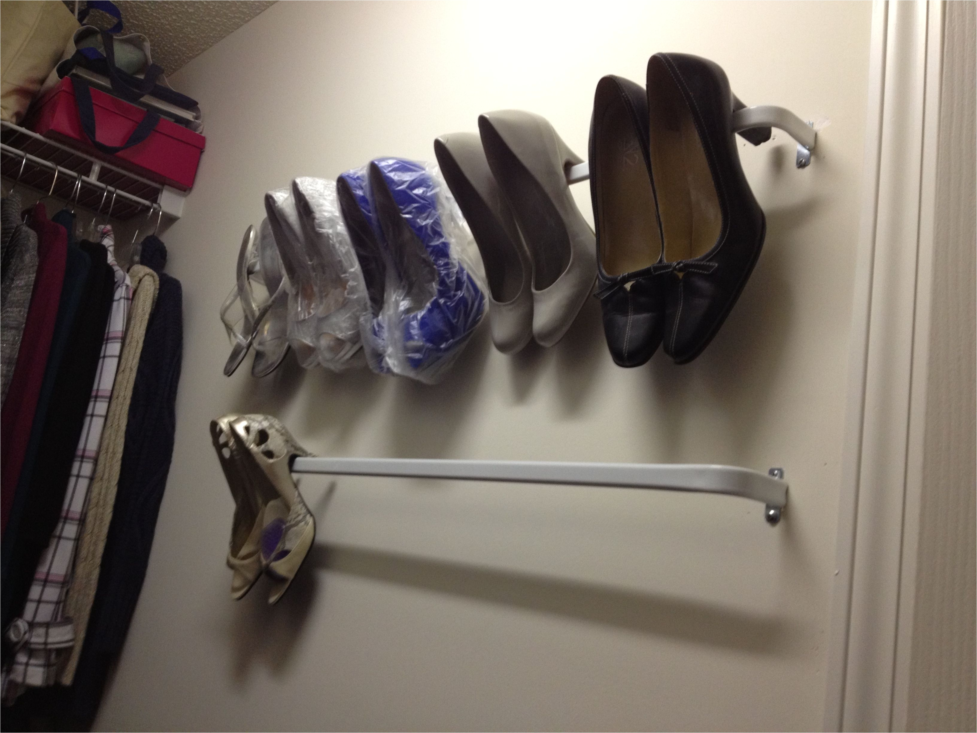 Over The Door Hat Rack Target Curtain Rods From Target Make A Shoe Rack For  Just