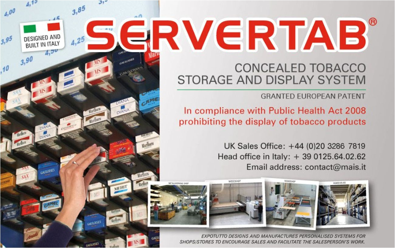 Overhead Cigarette Racks Overhead Cigarette Dispenser Expotutto Servertab tobacco Display