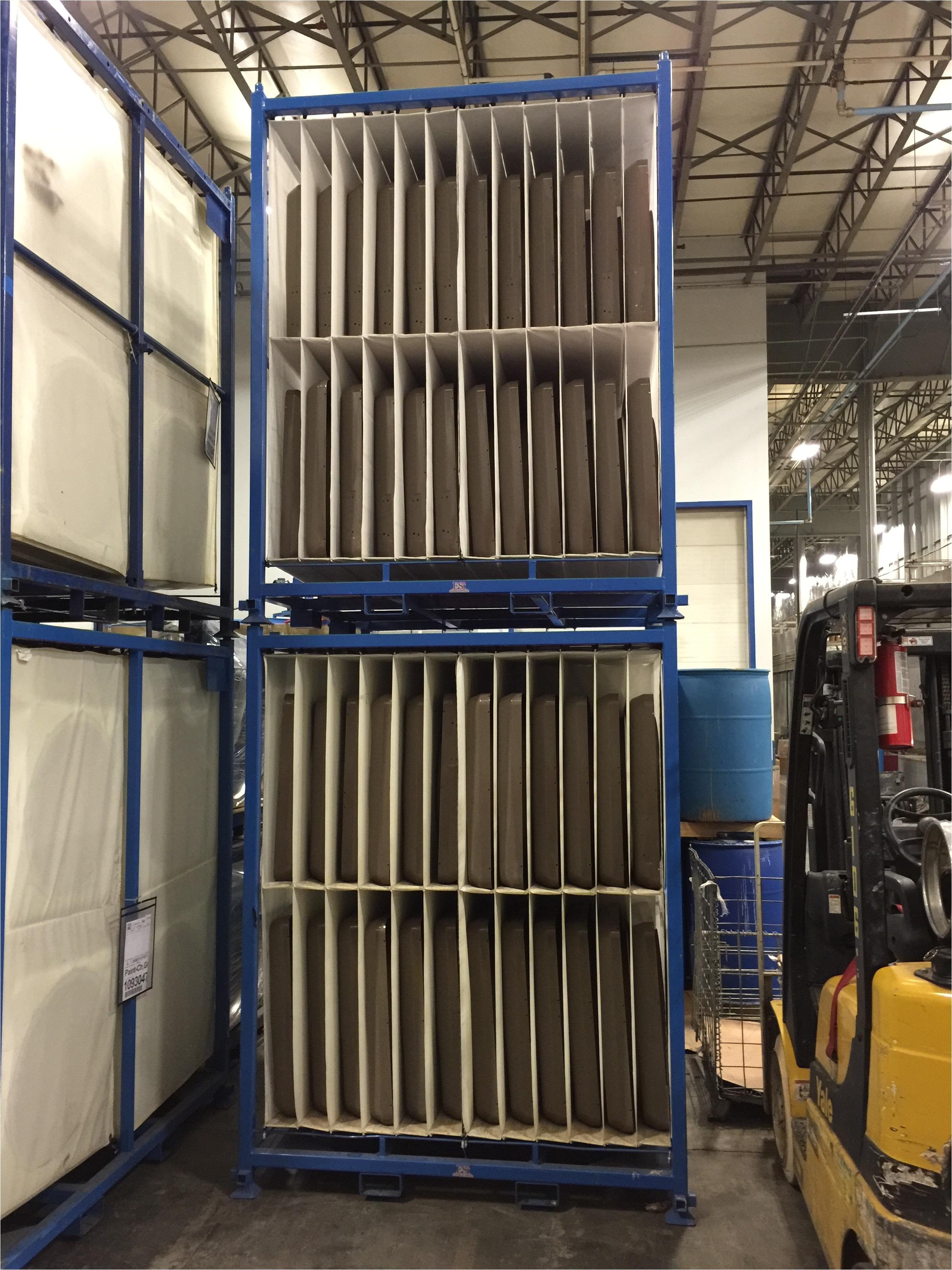 bag racks 40 wide o d