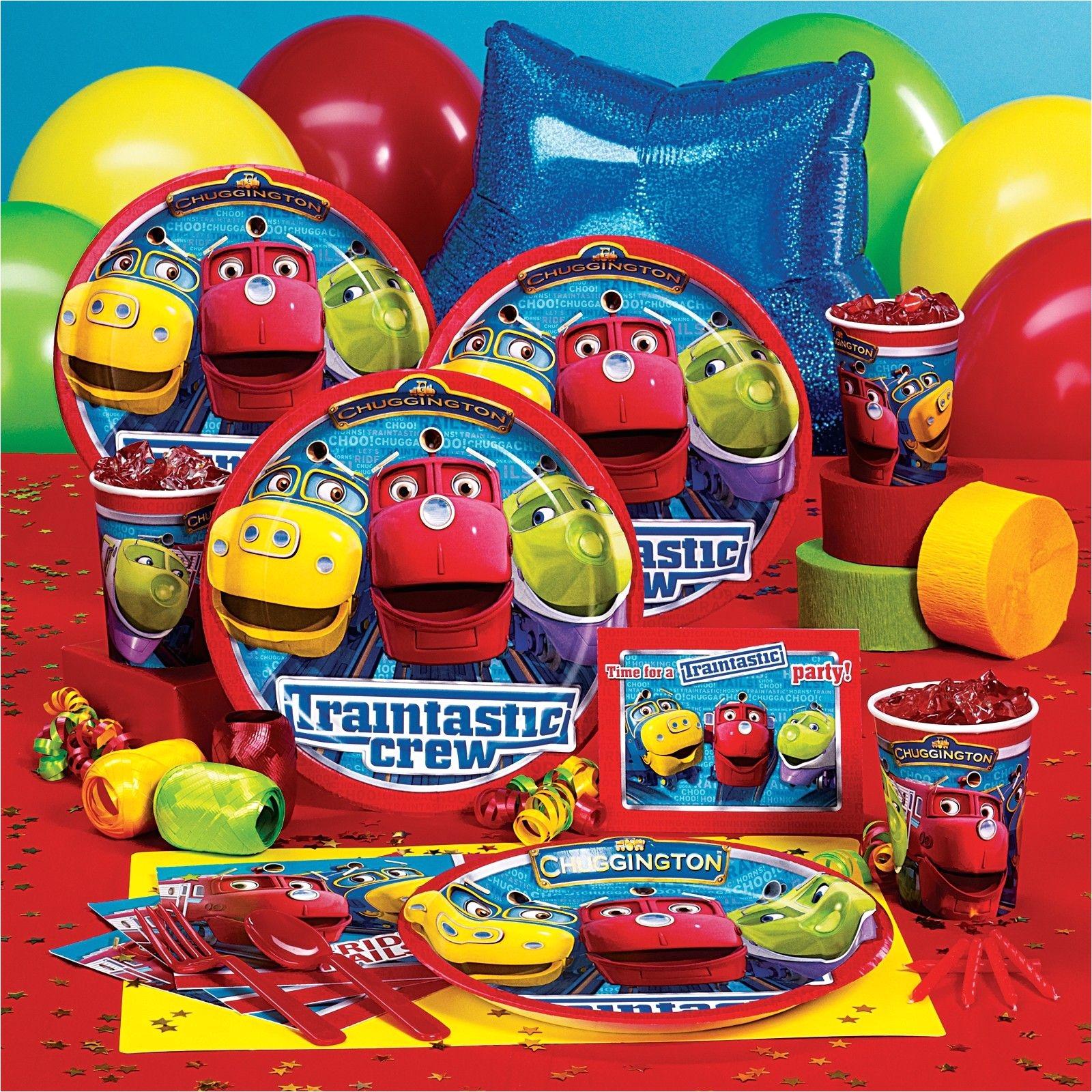 chuggington party supplies 78713