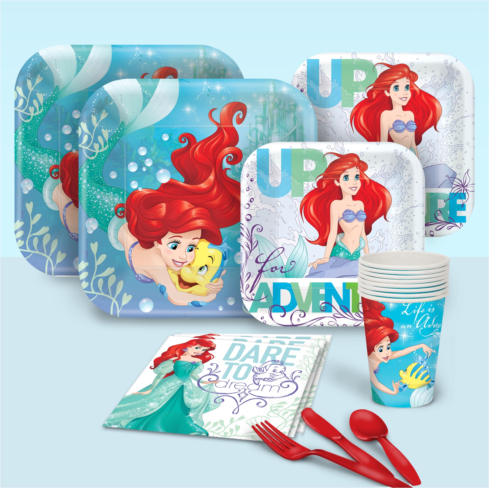 little mermaid basic pack