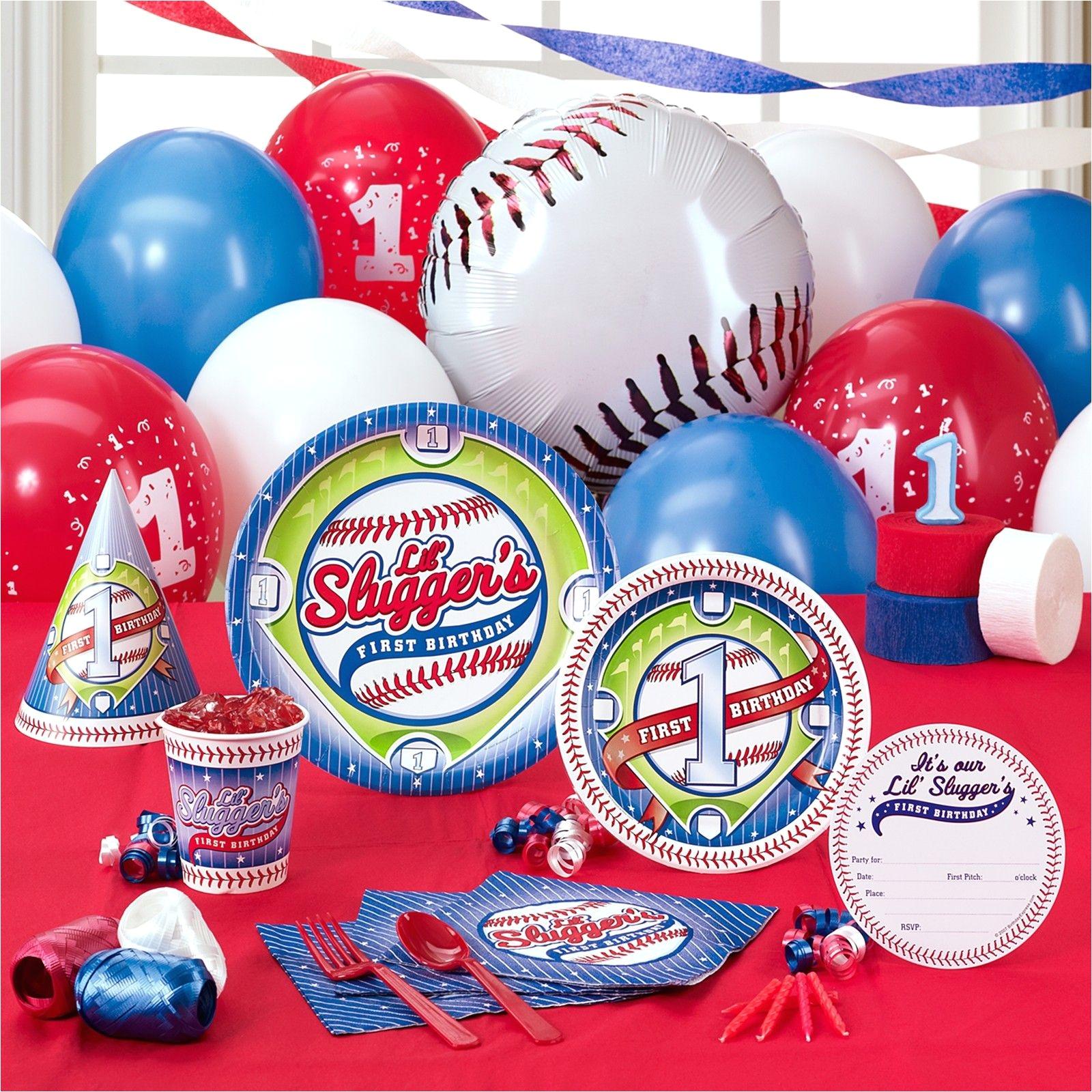 Party City Thomas the Train Decorations Little Slugger S 1st Birthday Party theme Birthday Invites Ideas