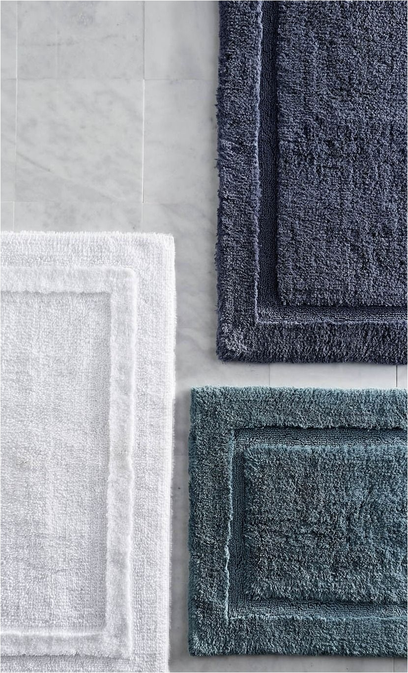 Peacock Color Bath Rugs Crafted From Premium Long Staple Cotton that Coordinates Perfectly