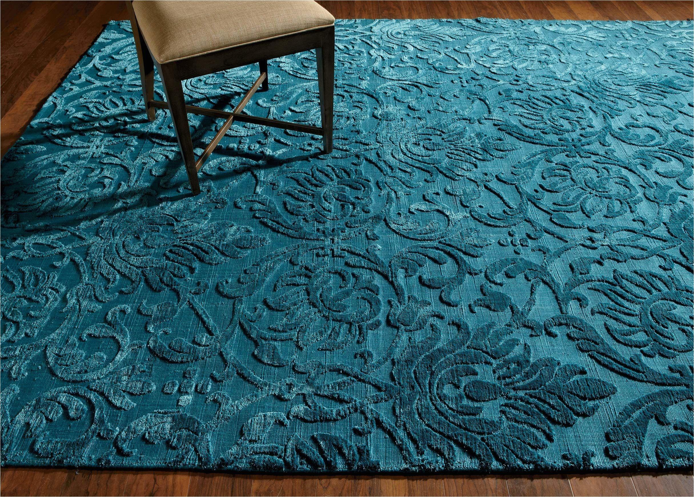 jacquard damask rug turquoise large gray