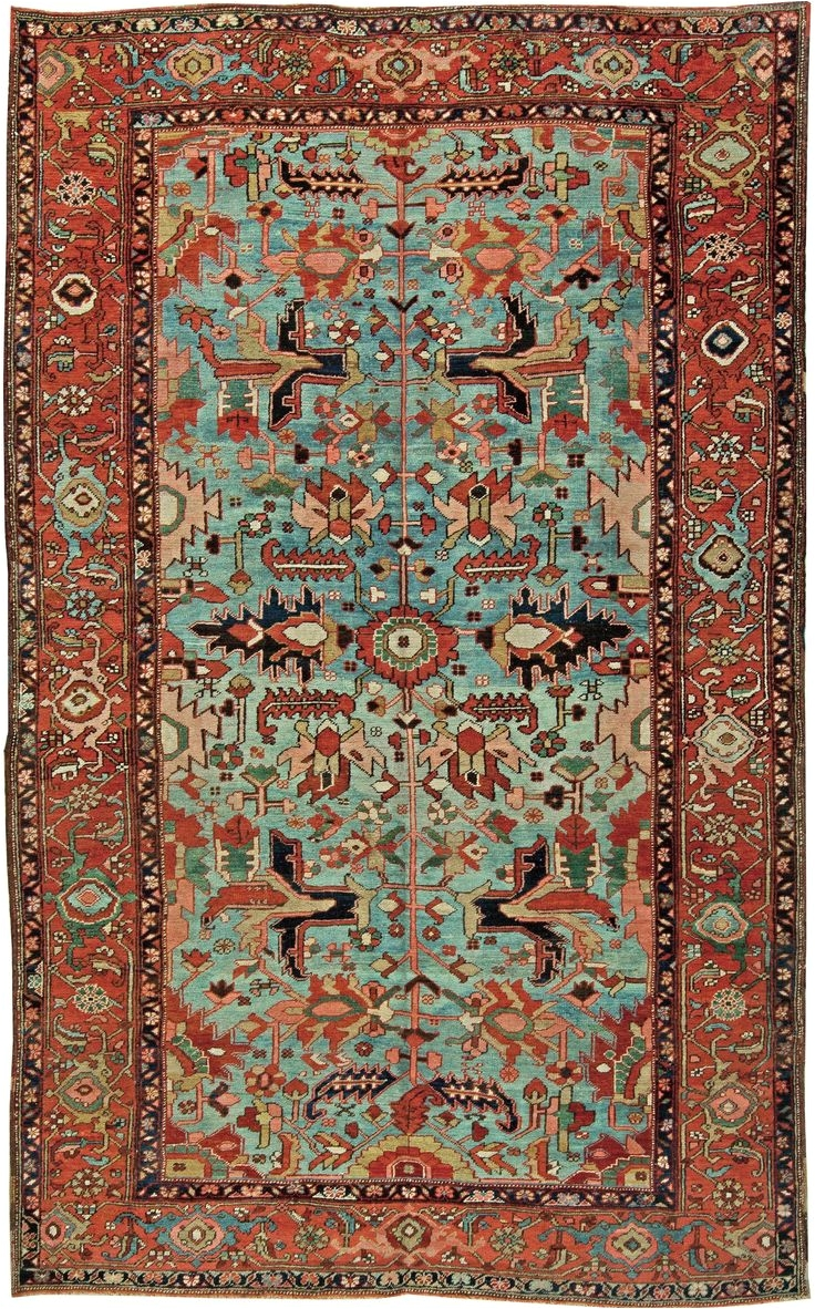 antique persian heriz rug bb2402 by doris leslie blau