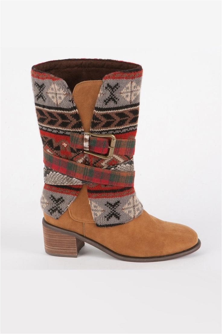 nicole belted cowboy boot muk luks
