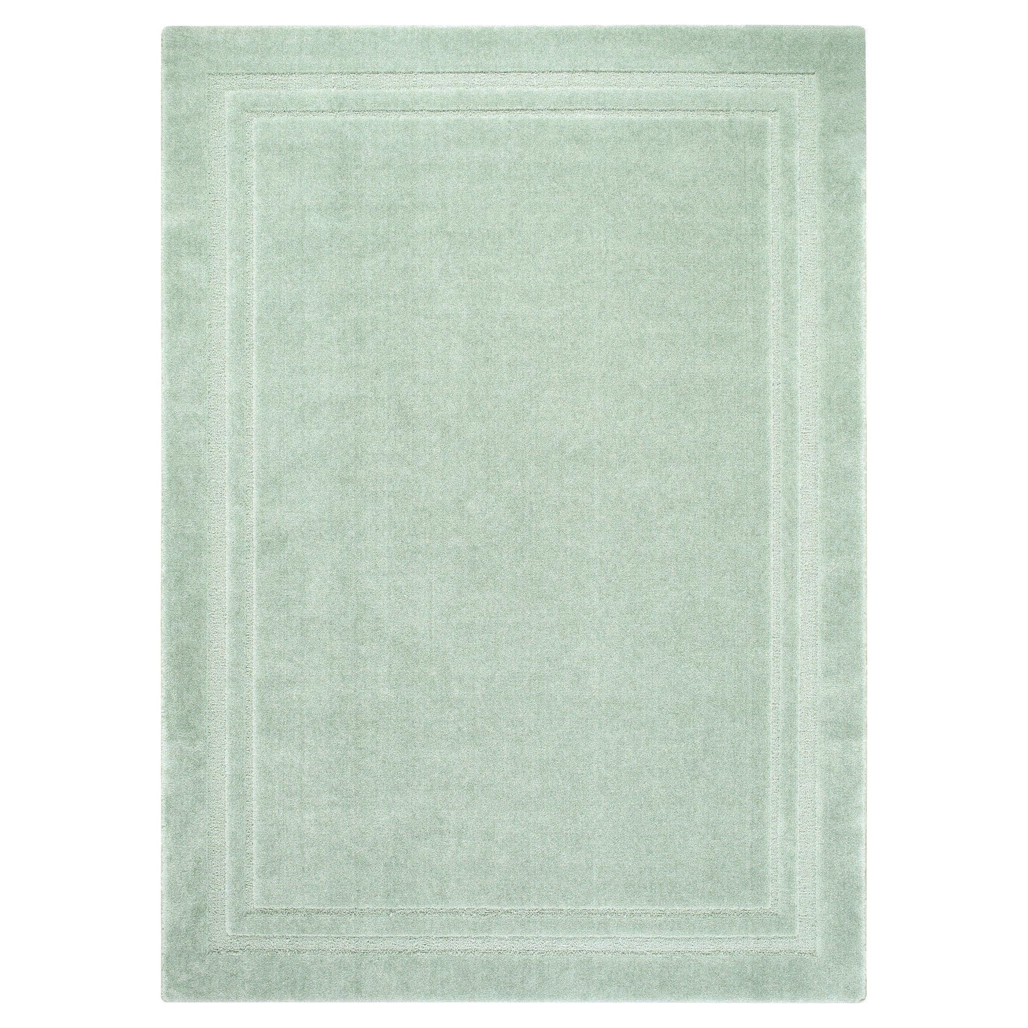 lisbon border accent rug aloe 2 6 x4