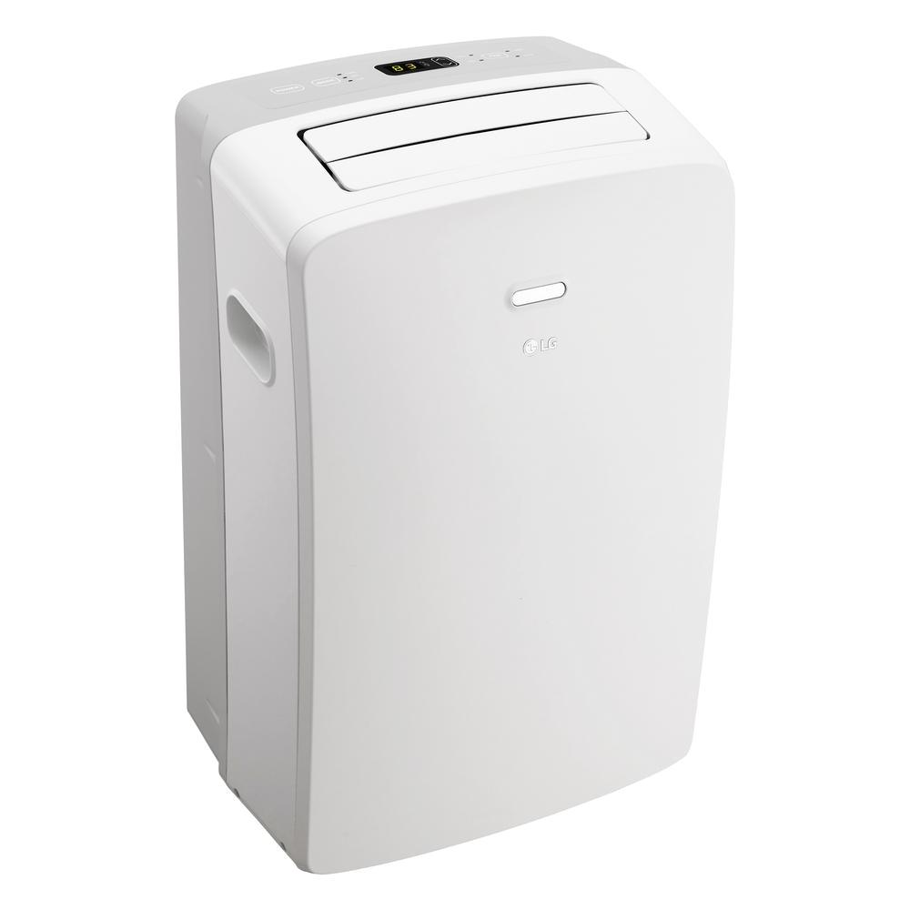 lg lp1017wsr 10 000 btu 115v portable air conditioner with remote control 0