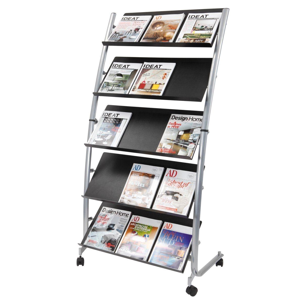 Poster Display Rack Alba Large Mobile Literature Display 5 Levels Work tools Pinterest