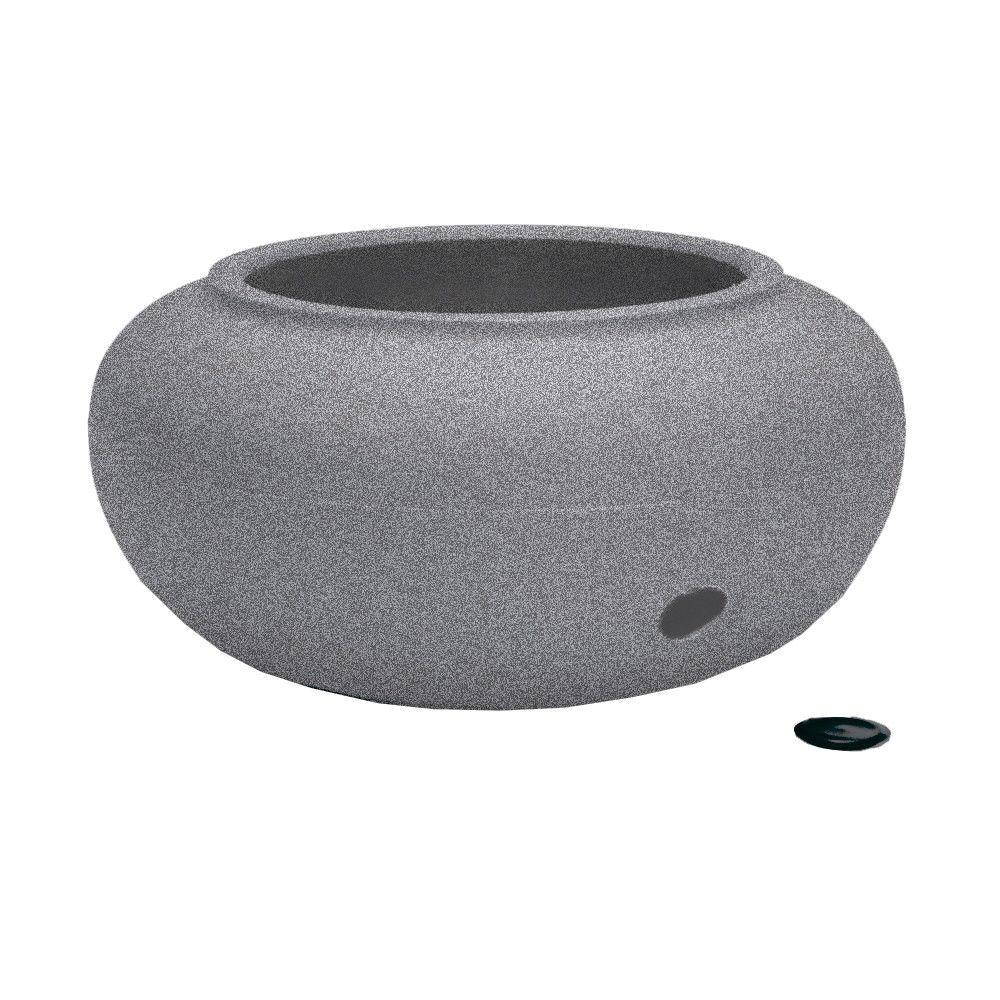 akro mils garden hose storage pot